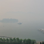 Unexpected smog from nearby forest fires grounds the seaplanes